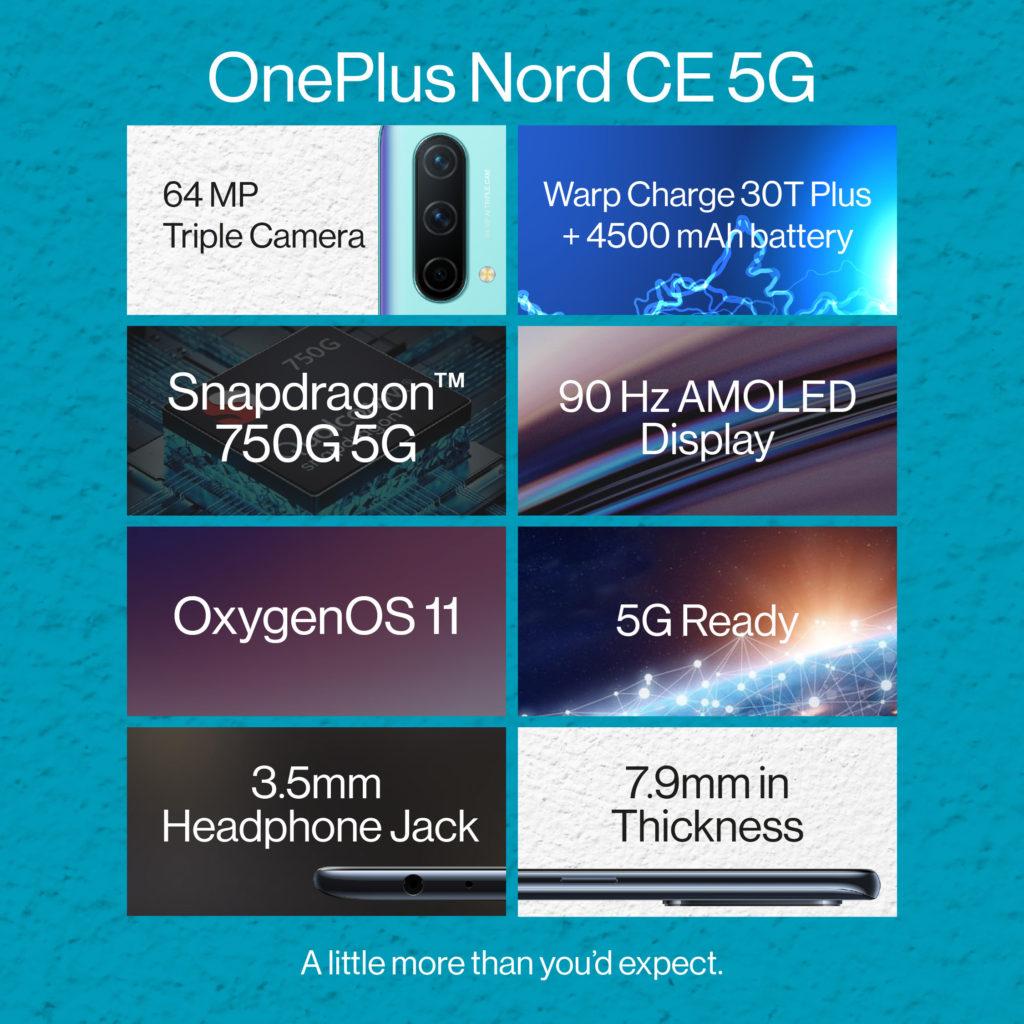 OnePlus Nord CE 5G kini rasmi di Malaysia pada harga dari RM 1,399 sahaja 8