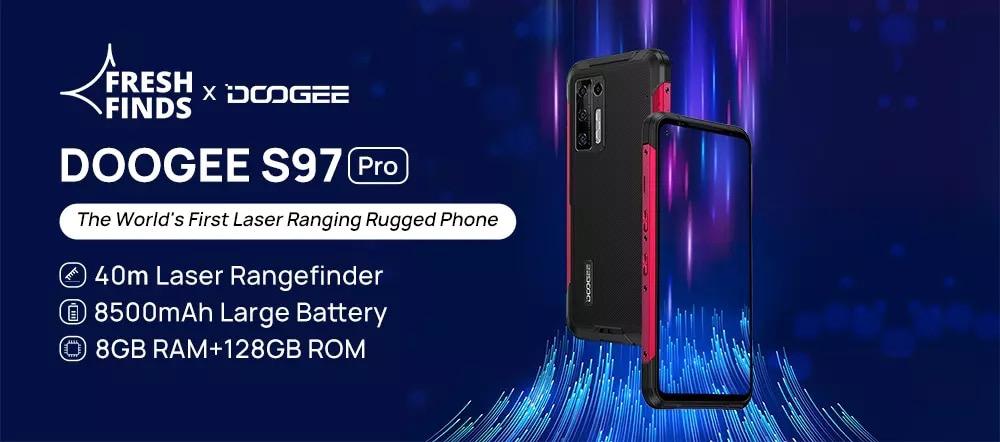 Doogee S97 Pro - telefon pintar lasak dengan bateri 8,500mAh kini ditawarkan pada harga sekitar RM 842 sahaja 21
