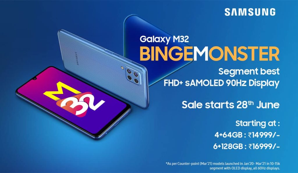 Samsung Galaxy M32 kini rasmi - tampil dengan skrin paparan AMOLED 90Hz pada harga serendah RM 834 sahaja 13