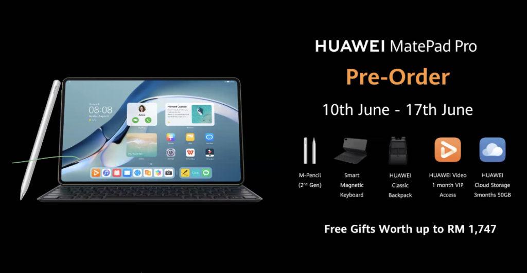 HUAWEI MatePad Pro 12.6 kini di Malaysia pada harga RM 3,999 - pra-tempahan kini dibuka 15