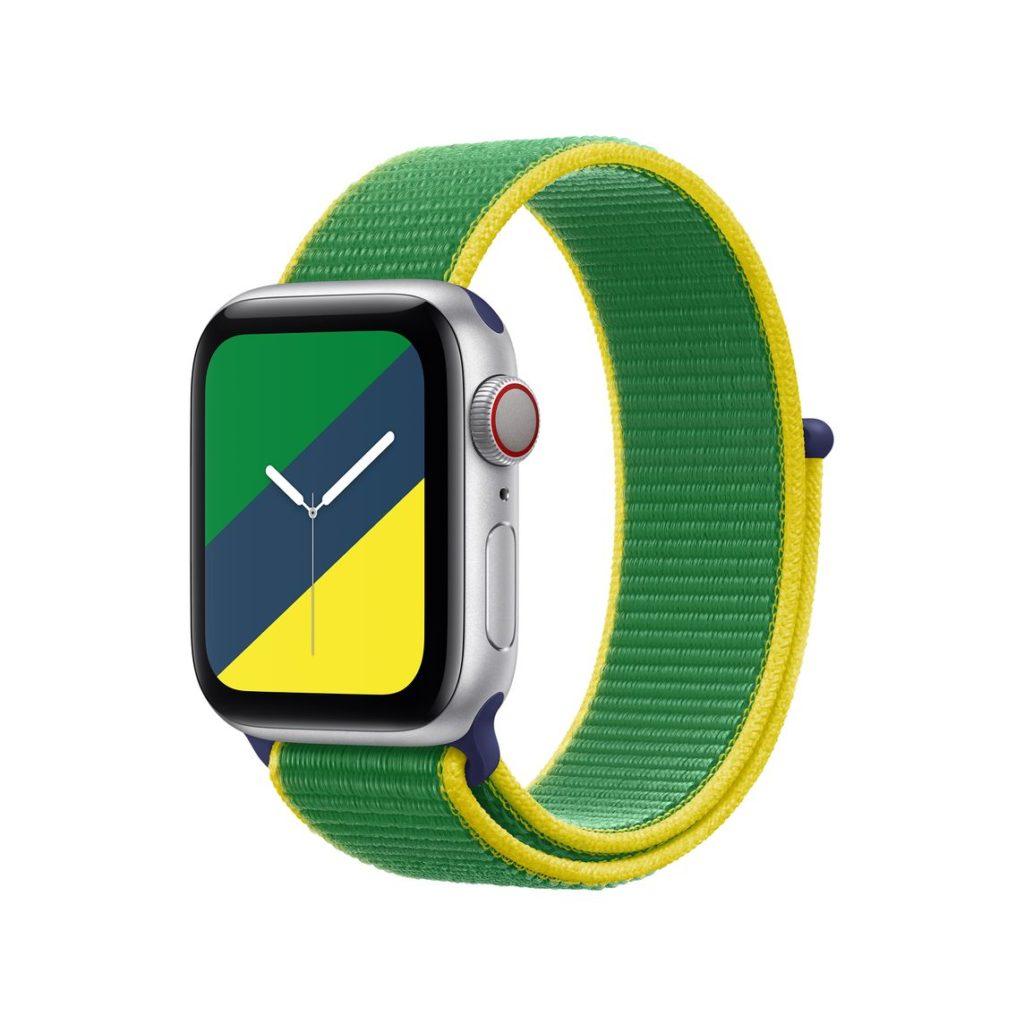 Tali jam Apple Watch edisi khas Olimpik bagi 22 Negara - berharga RM 199 8