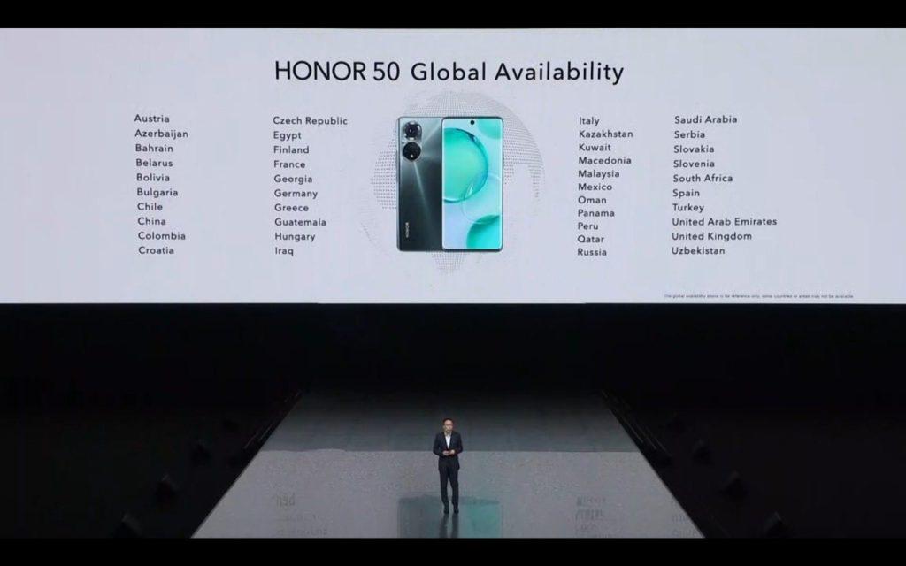 Honor 50 Pro & Honor 50 kini rasmi dengan Skrin OLED 120Hz, Snapdragon 778G & Pengecasan 100W 24