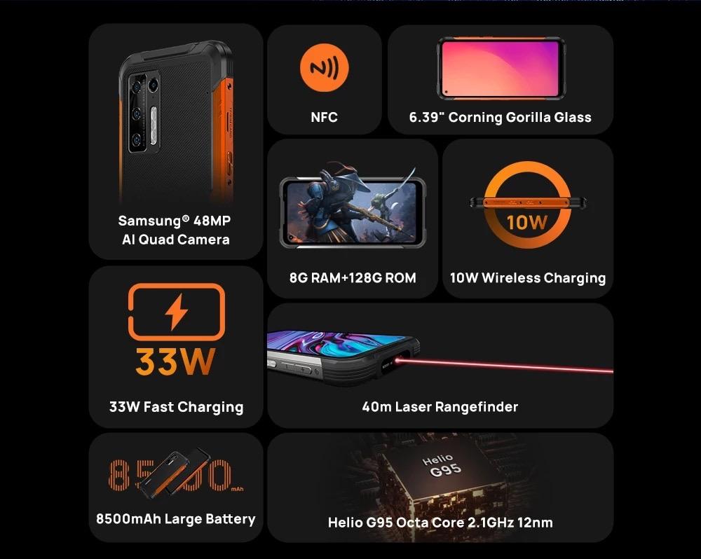 Doogee S97 Pro - telefon pintar lasak dengan bateri 8,500mAh kini ditawarkan pada harga sekitar RM 842 sahaja 27