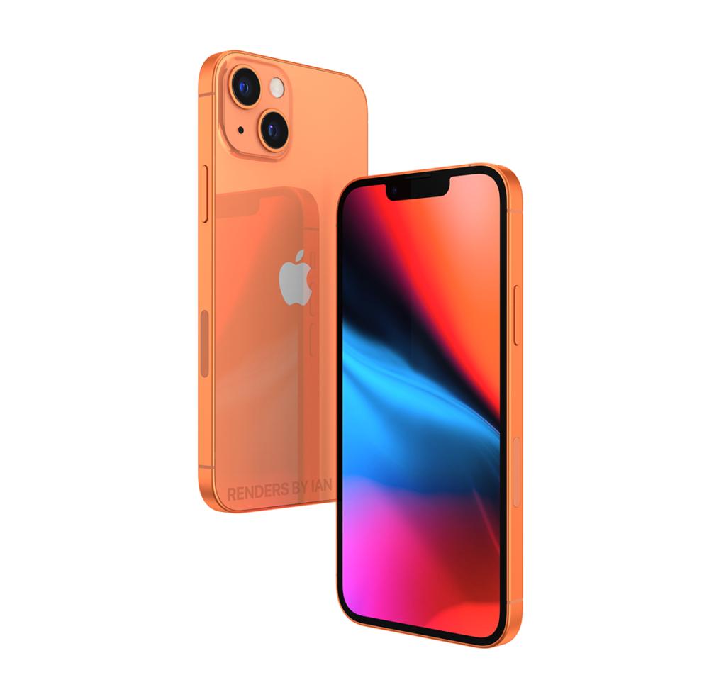 Apple iPhone 13 Series mungkin akan ditawarkan didalam warna oren sebagai warna baharu 7
