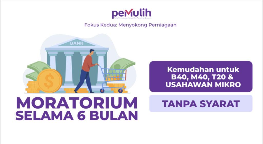 Pakej PEMULIH - Pengeluaran KWSP i-Citra bernilai RM 5,000 & Moratorium Pinjaman Bank 6 bulan kepada semua peminjam diumumkan 9