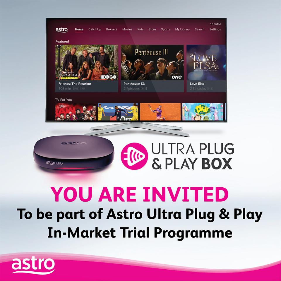Program Percubaan Astro Ultra Plug and Play Box kini bermula - pemasangan tanpa piring satelit 7
