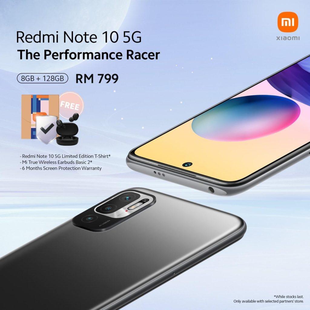 Xiaomi Redmi Note 10 5G dengan Dimensity 700 kini ditawarkan melalui Xiaomi Partner Store yang terpilih 7