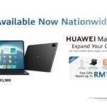 HUAWEI MatePad Pro 12.6 dengan HarmonyOS kini ditawarkan di Malaysia pada harga RM 3,999