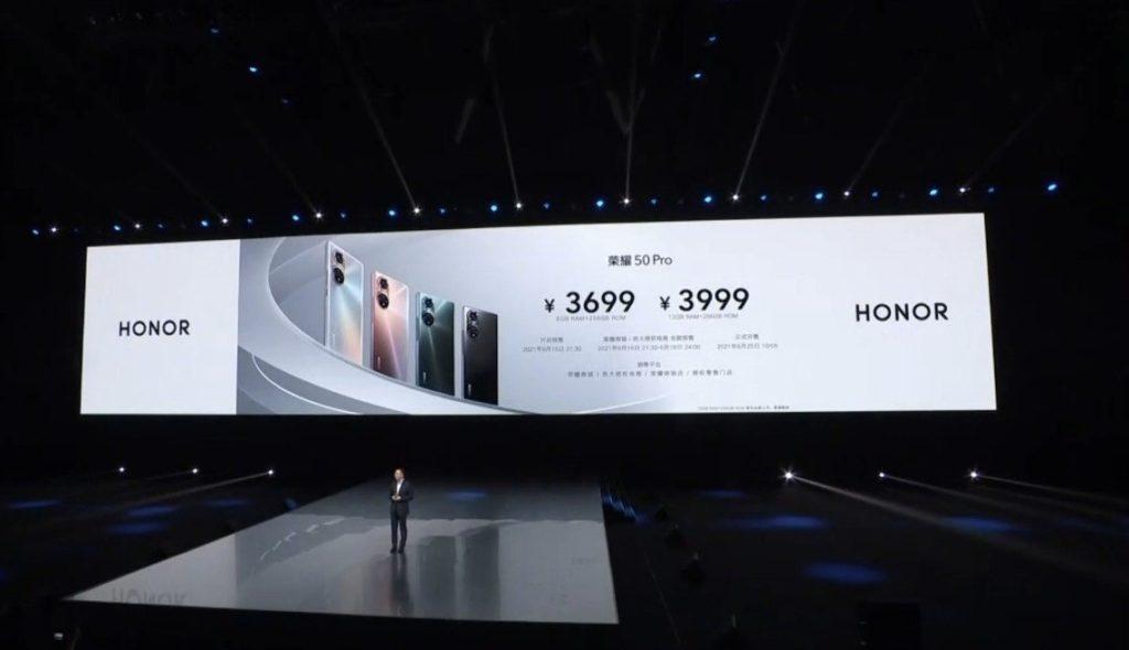 Honor 50 Pro & Honor 50 kini rasmi dengan Skrin OLED 120Hz, Snapdragon 778G & Pengecasan 100W 20