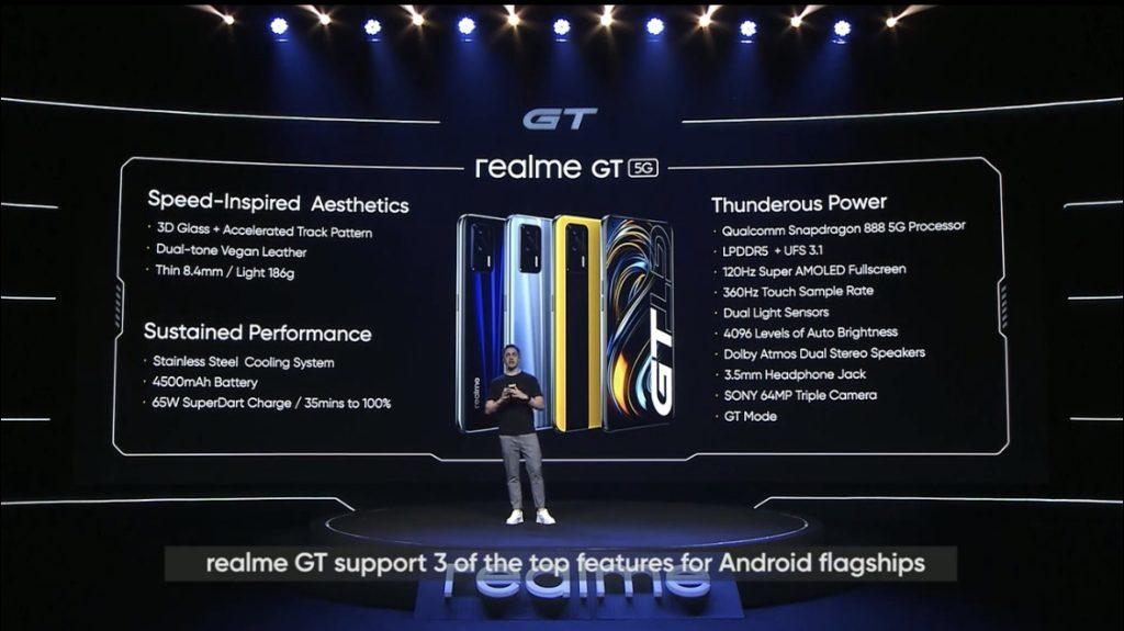 realme GT 5G kini rasmi untuk pasaran global - Skrin 120Hz AMOLED & Snapdragon 888 dengan GT Mode 11