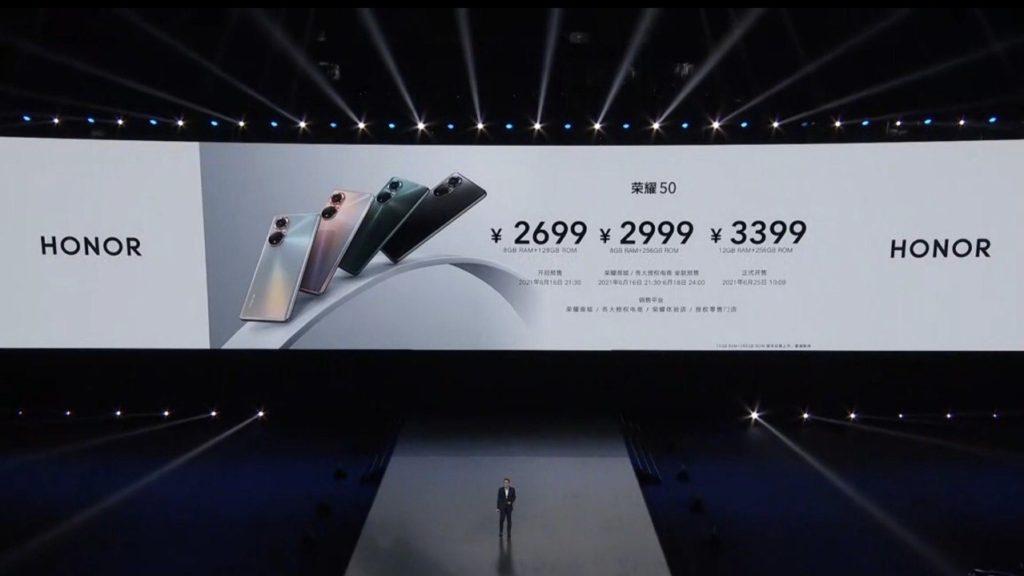 Honor 50 Pro & Honor 50 kini rasmi dengan Skrin OLED 120Hz, Snapdragon 778G & Pengecasan 100W 23