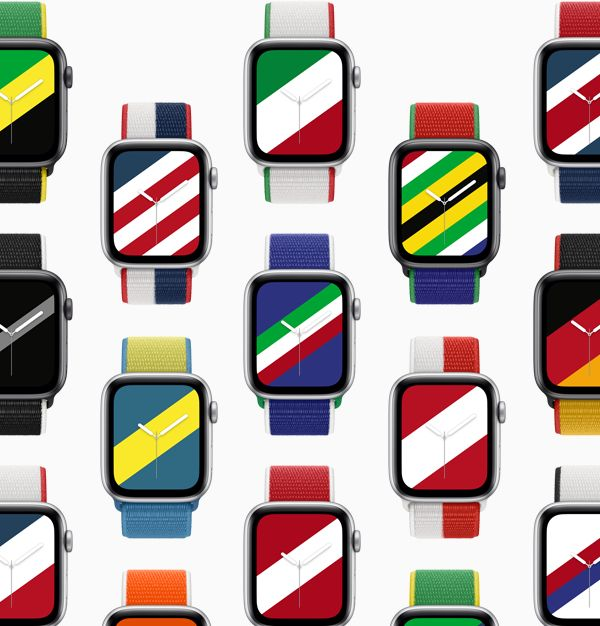Tali jam Apple Watch edisi khas Olimpik bagi 22 Negara - berharga RM 199 5