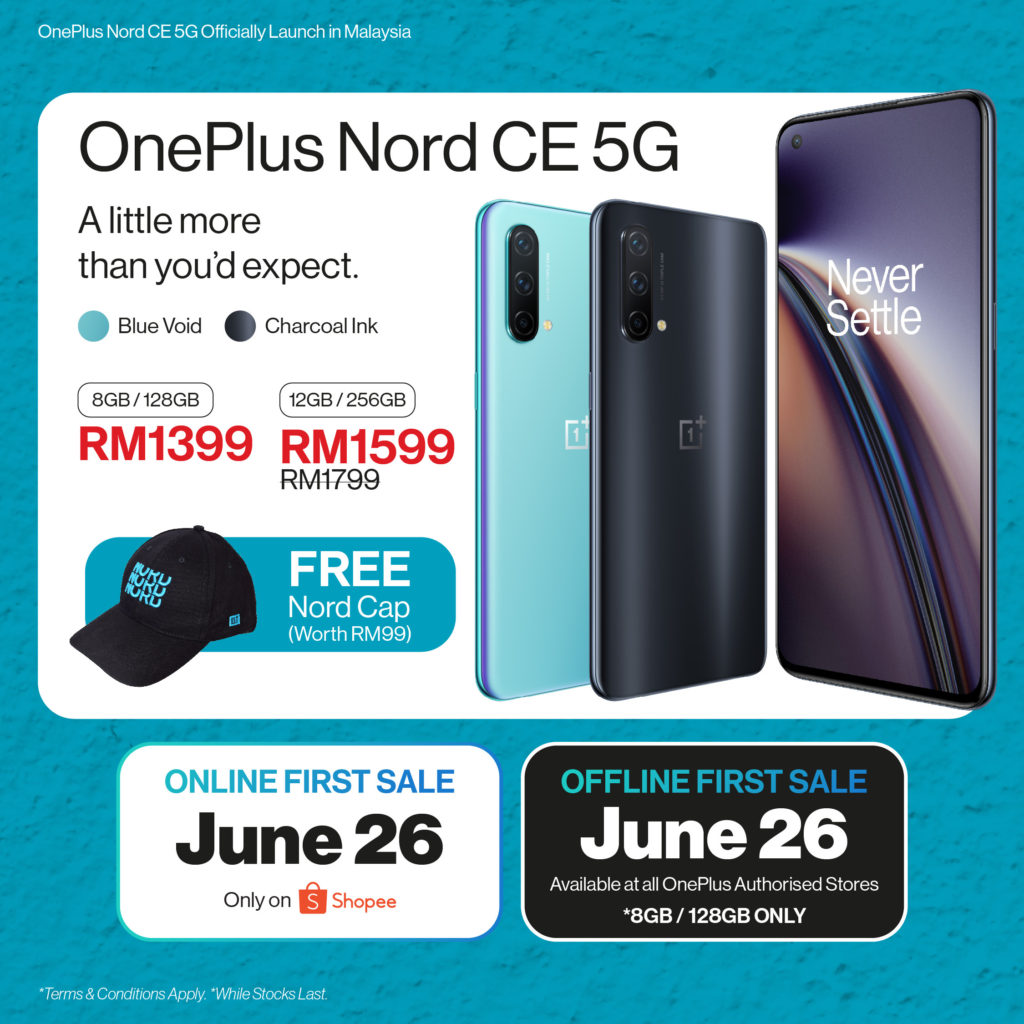 OnePlus Nord CE 5G kini rasmi di Malaysia pada harga dari RM 1,399 sahaja 9