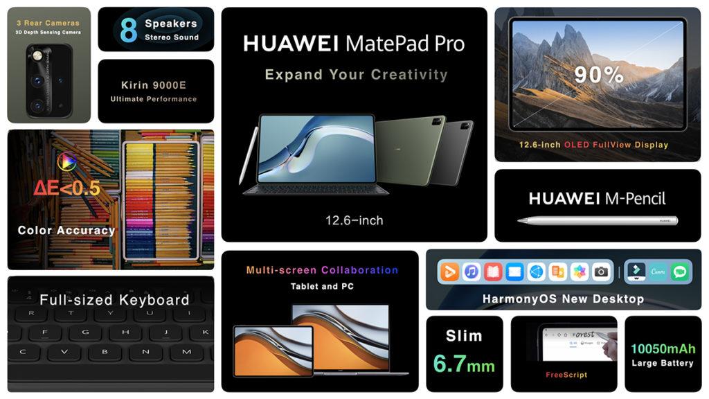 HUAWEI MatePad Pro 12.6 dengan HarmonyOS 2.0 akan dilancarkan di Malaysia pada 10 Jun ini 8