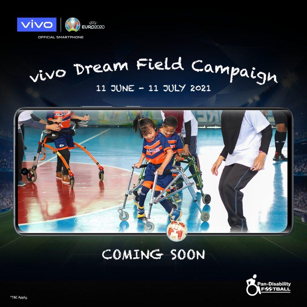 Kempen Vivo Dream Field : Vivo akan menderma RM 35 kepada kelab bola sepak kurang upaya bagi setiap peranti vivo yang dijual di vivo eStore 9