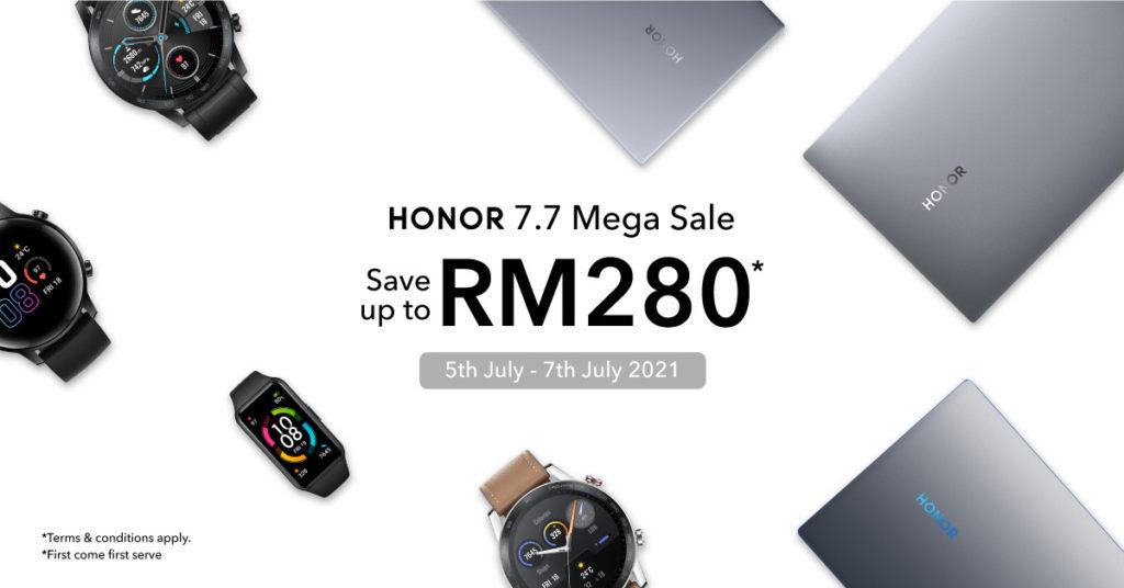 Honor Malaysia 7.7 Sale akan berlangsung di Shopee pada 5-7 Julai ini 15