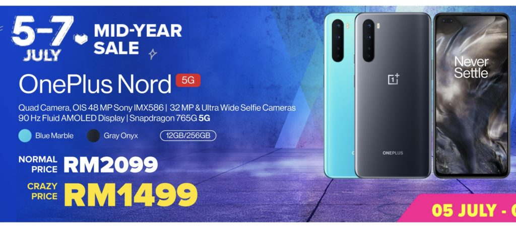OnePlus 7.7 Sale - OnePlus Nord CE 5G ditawarkan pada harga RM 1,499 sahaja 16