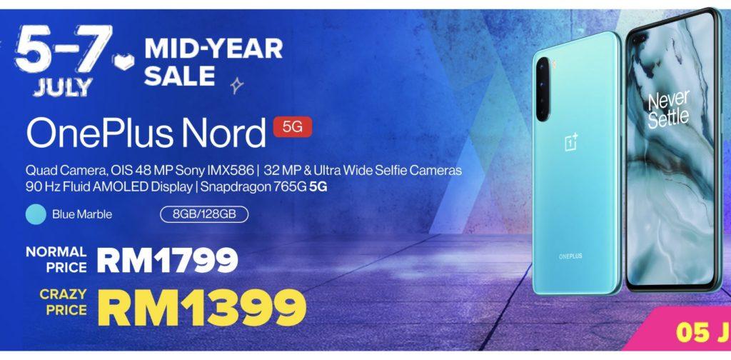OnePlus 7.7 Sale - OnePlus Nord CE 5G ditawarkan pada harga RM 1,499 sahaja 17