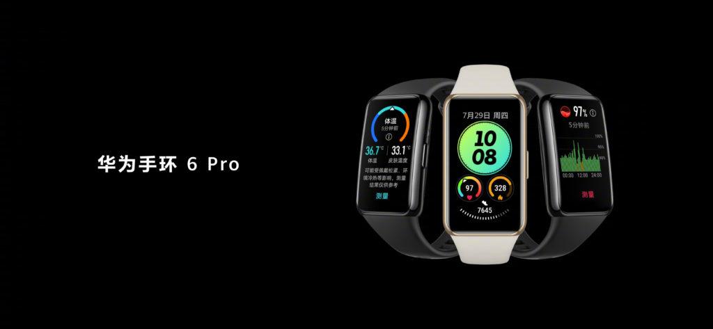 HUAWEI Watch GT 2 Pro ECG dan Band 6 Pro dengan sensor suhu badan kini rasmi pada harga dari RM 293 11