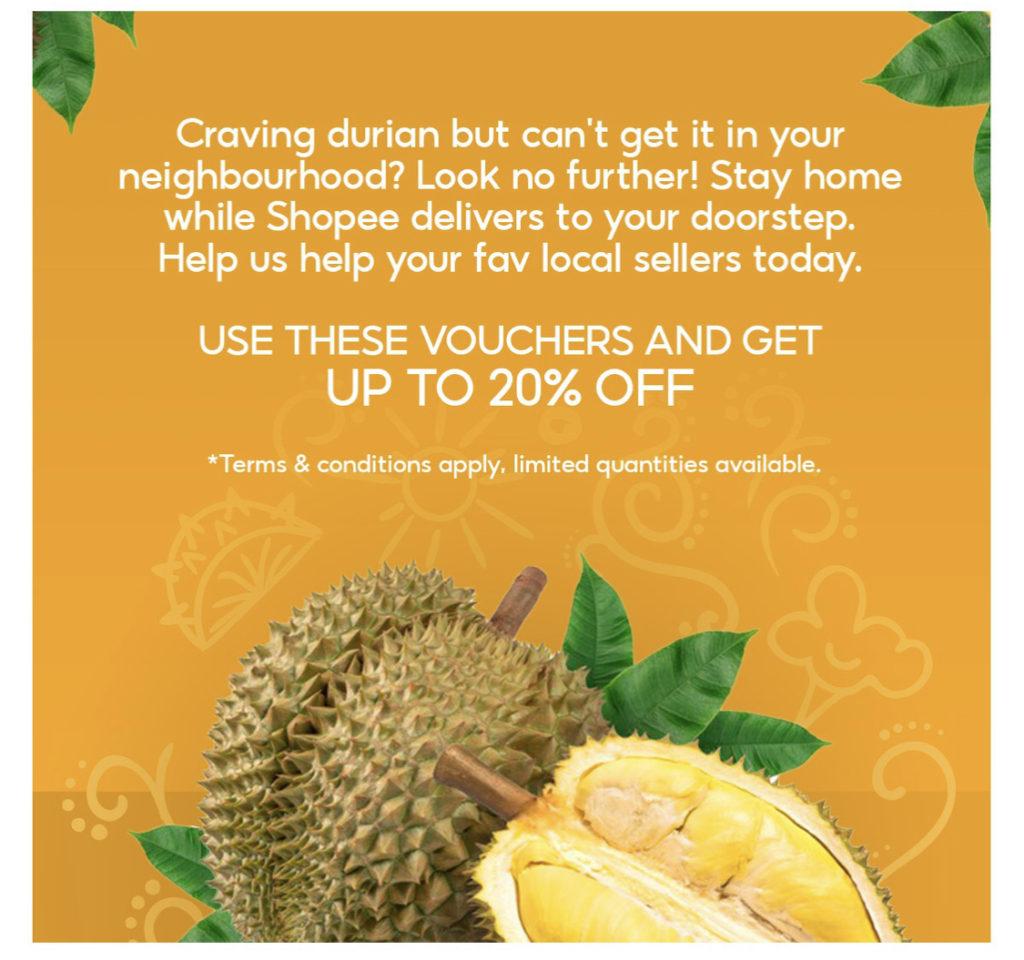 Kempen Durian e-Fiesta kembali lagi di Shopee - Dapatkan Durian Segar dari Ladang pada harga berpatutan 8