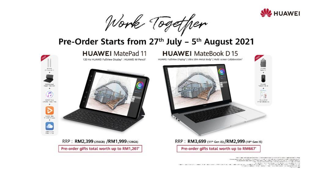 HUAWEI MatePad 11 dan 4 model komputer riba MateBook Series kini di rasmi di Malaysia 7