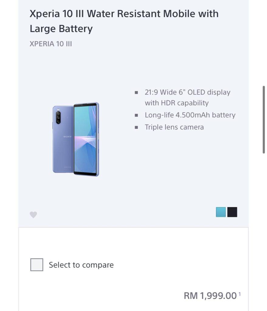 Sony Xperia 1 III akan ditawarkan di Malaysia pada harga RM 5,799 - Xperia 5 III pula RM 4,599 12