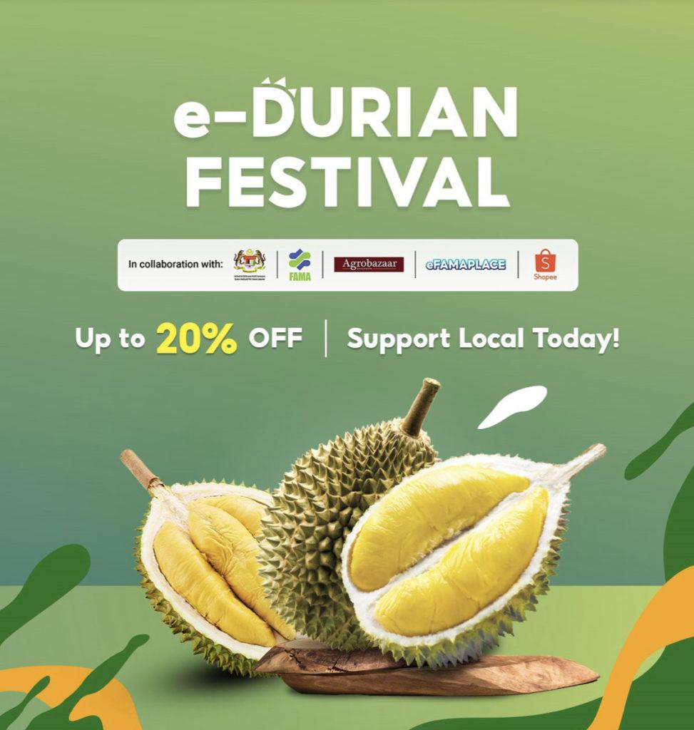 Kempen Durian e-Fiesta kembali lagi di Shopee - Dapatkan Durian Segar dari Ladang pada harga berpatutan 7