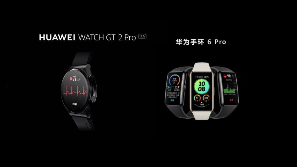 HUAWEI Watch GT 2 Pro ECG dan Band 6 Pro dengan sensor suhu badan kini rasmi pada harga dari RM 293 9
