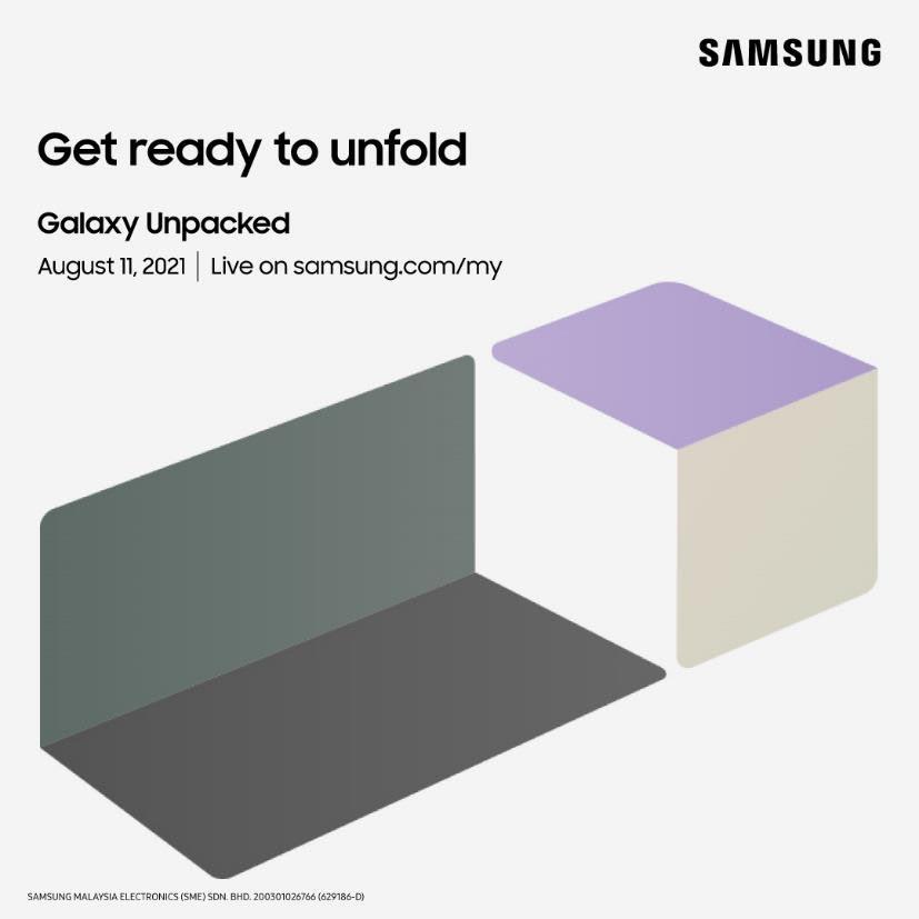 Samsung Galaxy Z Fold3 5G dan Z Flip3 5G akan dilancarkan secara rasmi pada 11 Ogos ini 3