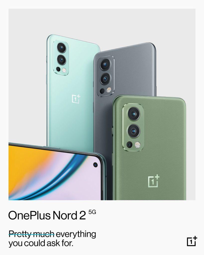 OnePlus Nord 2 5G kini rasmi - telefon pintar pertama OnePlus dengan cip MediaTek Dimensity 1200 AI 11