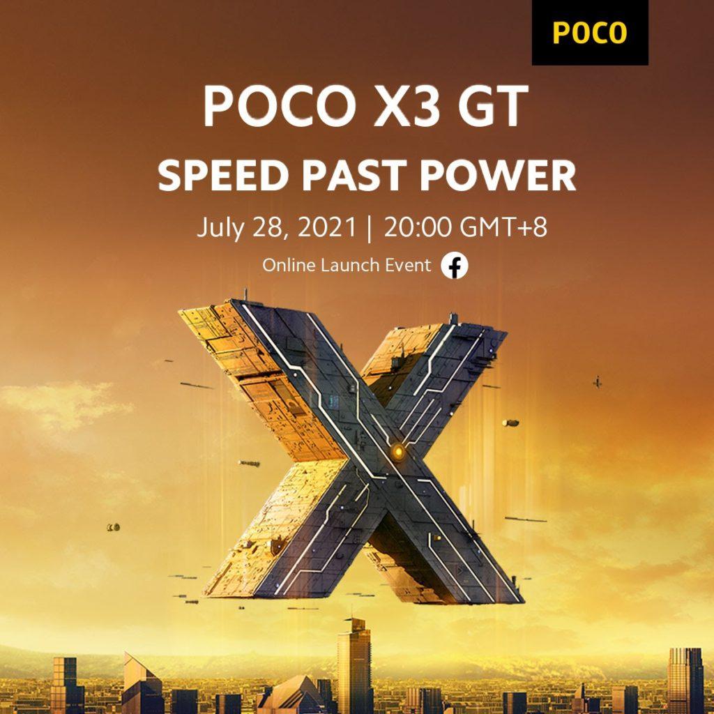 Pelancaran Global Poco X3 GT akan berlangsung pada 28 Julai ini 3