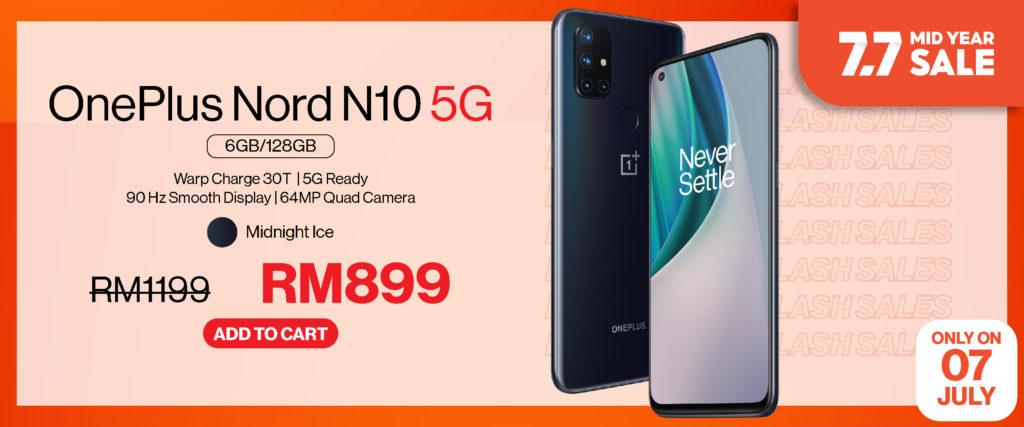OnePlus 7.7 Sale - OnePlus Nord CE 5G ditawarkan pada harga RM 1,499 sahaja 14
