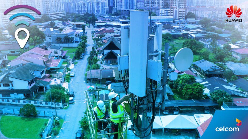 Celcom dan HUAWEI perkenal rangkaian Smart 8T8R FDD komersial berskala besar pertama dunia - kurangkan kesesakan trafik rangkaian 9