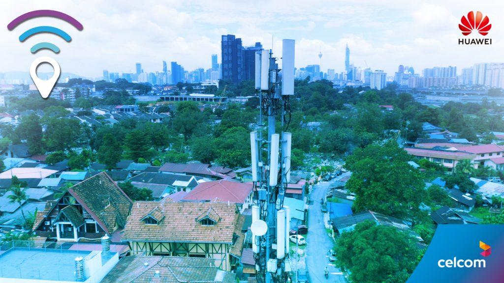 Celcom dan HUAWEI perkenal rangkaian Smart 8T8R FDD komersial berskala besar pertama dunia - kurangkan kesesakan trafik rangkaian 7