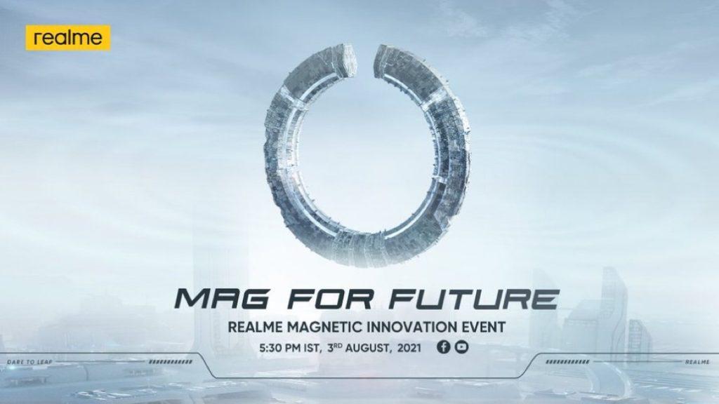 realme Flash akan dilancarkan pada 3 Ogos 2021 - teknologi pengecasan MagDart akan turut diperkenalkan 3