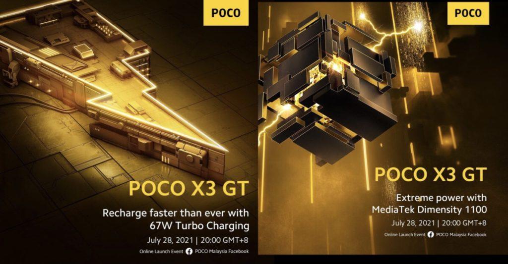 Poco X3 GT disahkan akan hadir dengan cip MediaTek Dimensity 1100 dan pengecasan 67W Turbo Charge 6