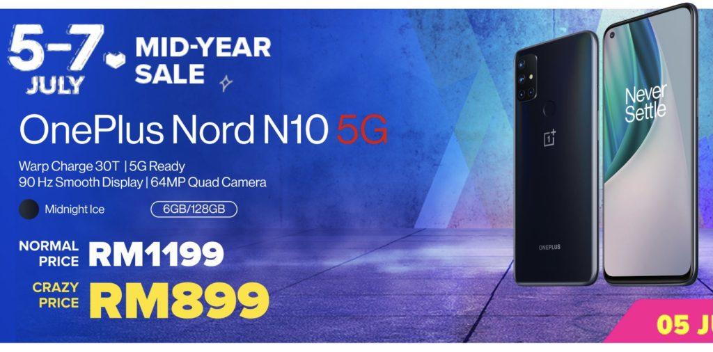 OnePlus 7.7 Sale - OnePlus Nord CE 5G ditawarkan pada harga RM 1,499 sahaja 18