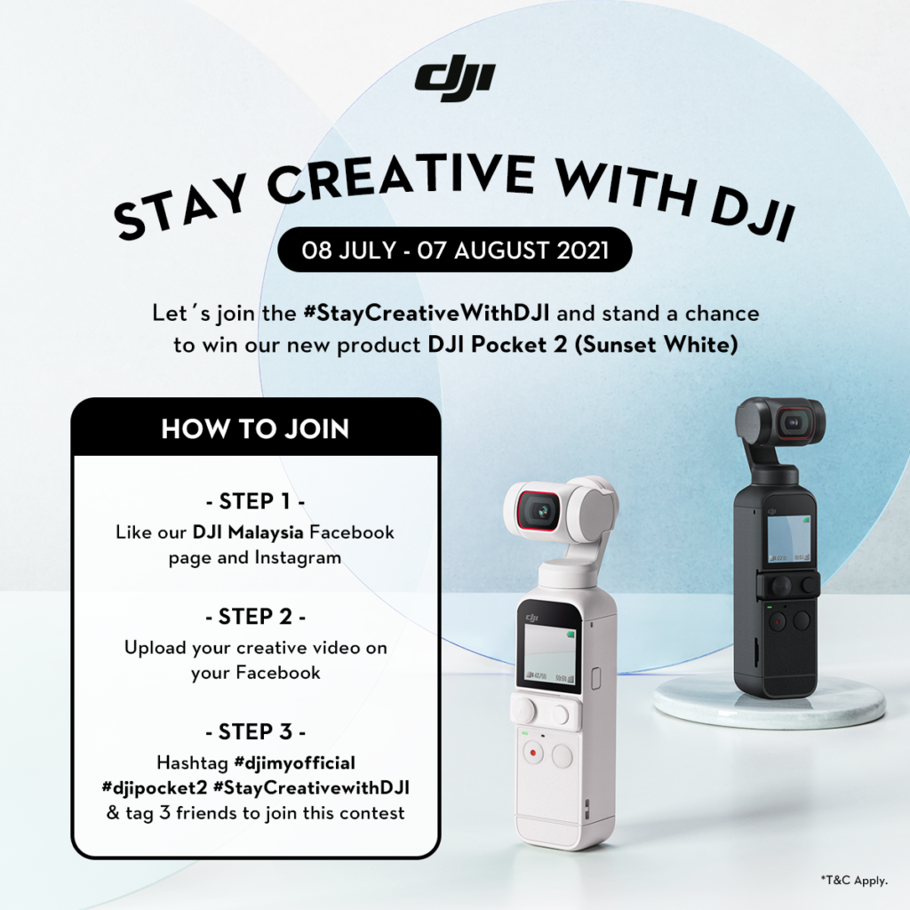 DJI Pocket 2 kini ditawarkan dalam warna Sunset White - harga dari RM 1,549 12