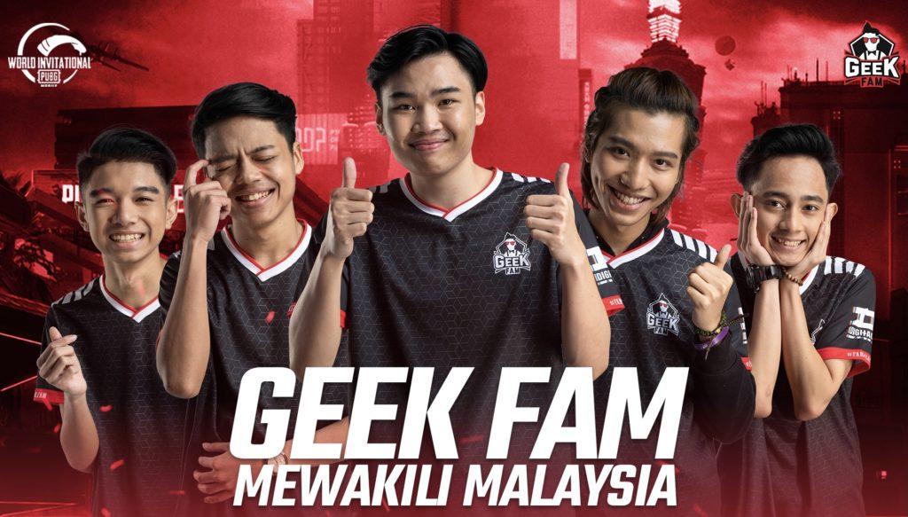 Geek Fam Wakil Tunggal Malaysia di PUBG Mobile World Invitational (PMWI) East 2021 3
