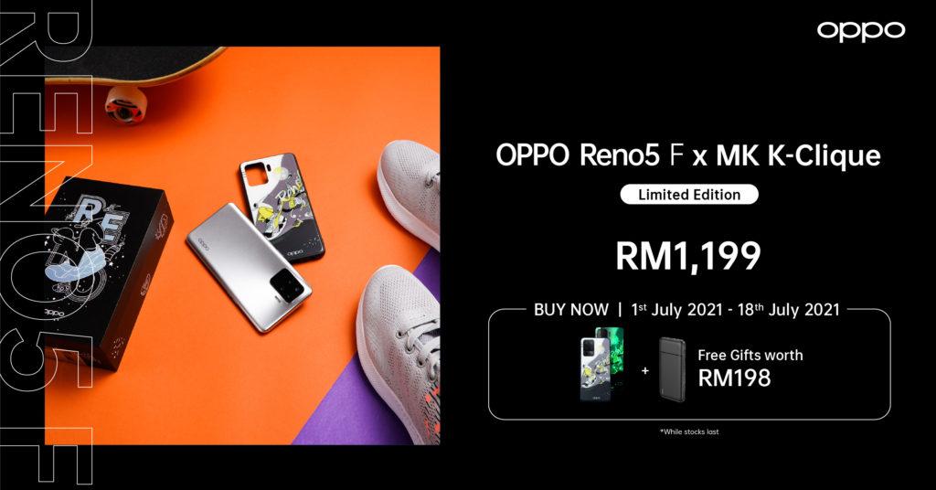 OPPO Reno5 5G dan Reno5 F Edisi Terhad kini ditawarkan pada harga dari RM 1,199 sahaja 11