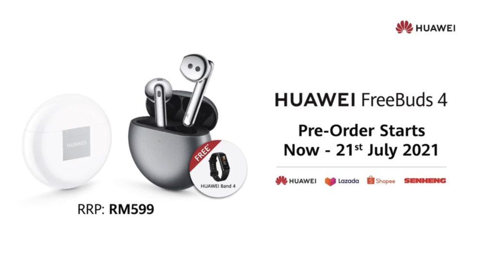 HUAWEI FreeBuds 4 kini rasmi di Malaysia pada harga RM 599 sahaja 12