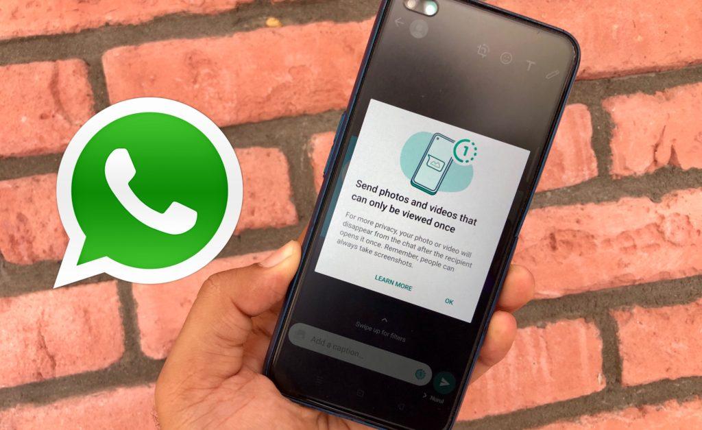 WhatsApp bakal menawarkan ciri View Once- gambar dan video terpadam selepas dilihat sekali 7