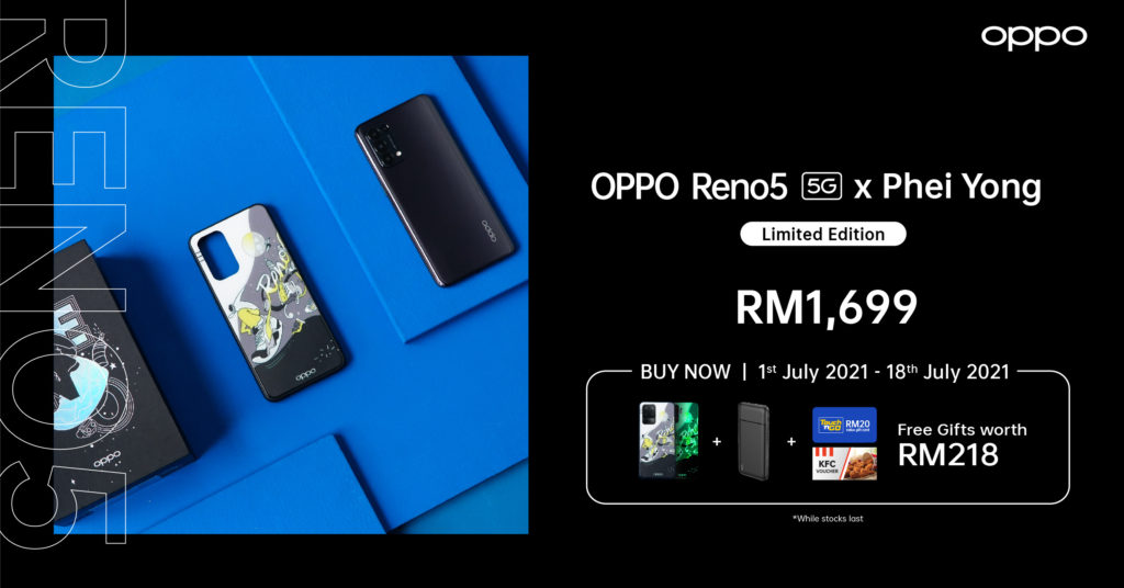 OPPO Reno5 5G dan Reno5 F Edisi Terhad kini ditawarkan pada harga dari RM 1,199 sahaja 10