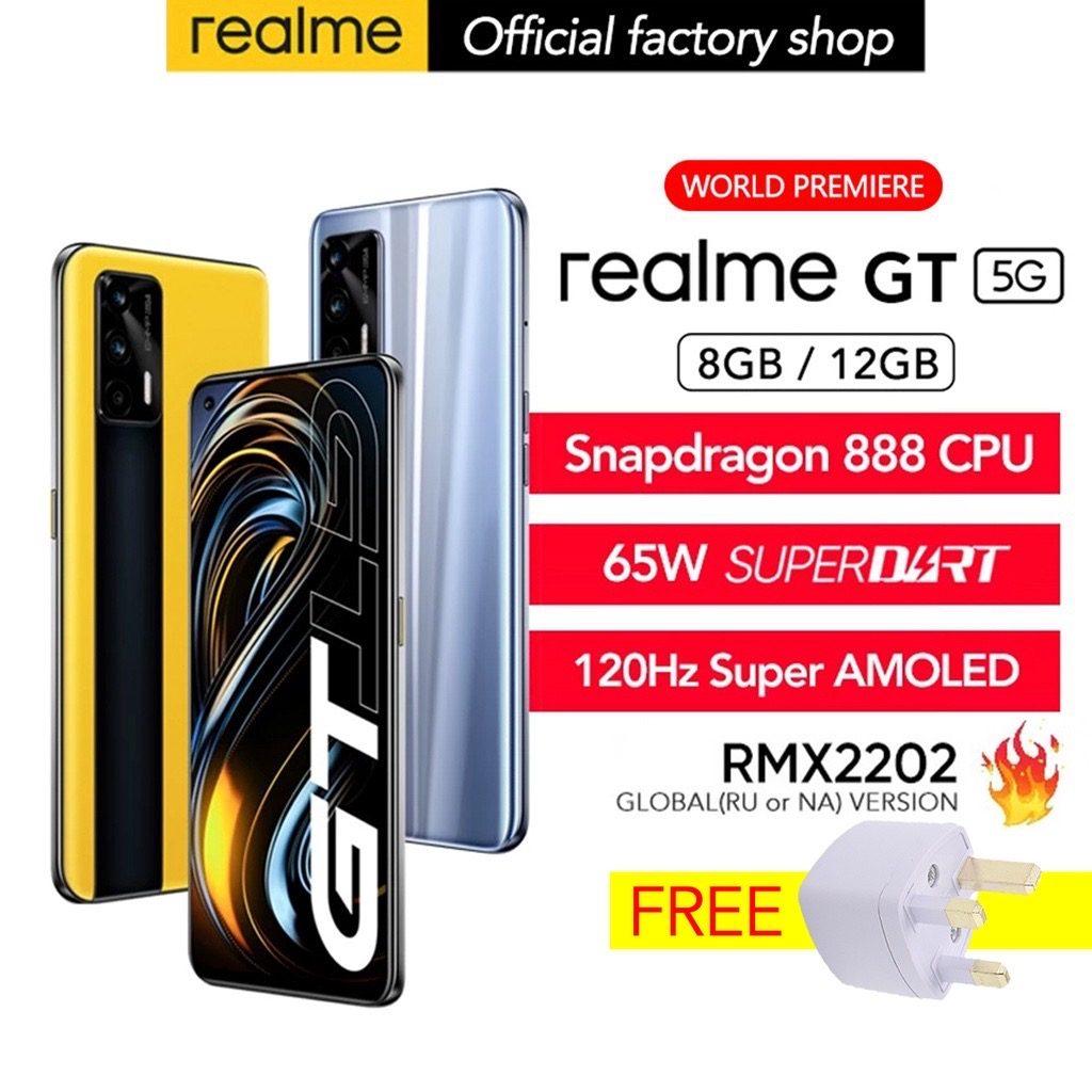 realme GT 5G versi global akan ditawarkan di Shopee mulai 7 Julai ini - harga dari RM 1,849 3
