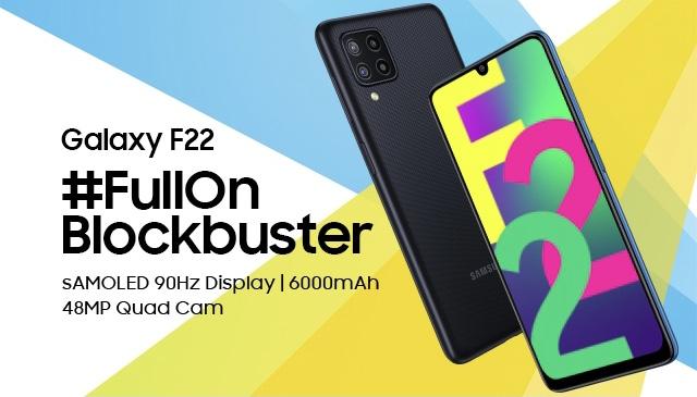 Samsung Galaxy F22 akan dilancarkan pada 6 Julai ini 7