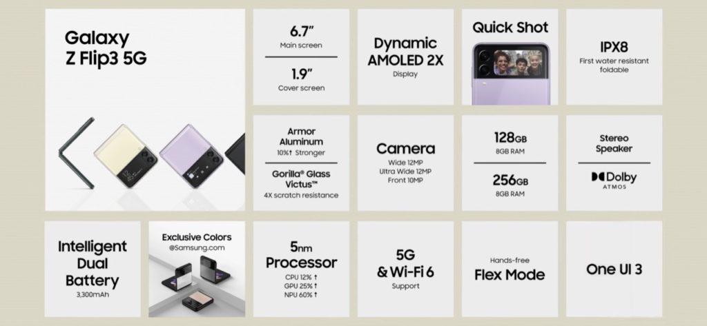 Samsung Galaxy Z Flip3 kini rasmi - Cover Screen yang lebih besar dan skrin paparan utama 120Hz 13