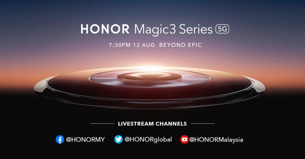 Honor Magic3 Series akan dilancarkan 12 Ogos ini - antara telefon pintar pertama dengan cip Snapdragon 888+ 3
