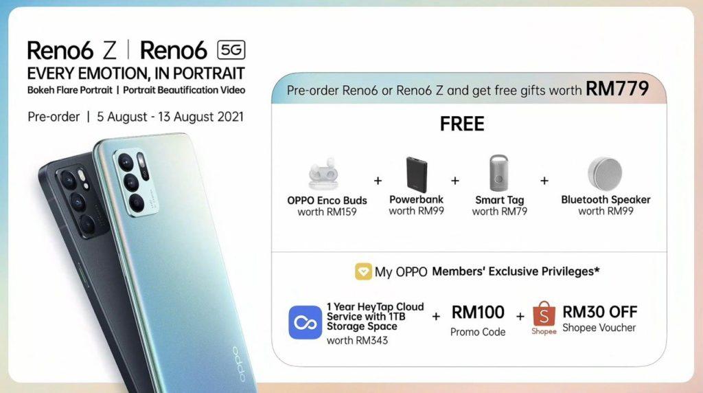 Oppo Reno6 5G dan Reno6 Z 5G kini rasmi di Malaysia pada harga dari RM 1,699 20