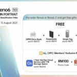 Oppo Reno6 5G dan Reno6 Z 5G kini rasmi di Malaysia pada harga dari RM 1,699