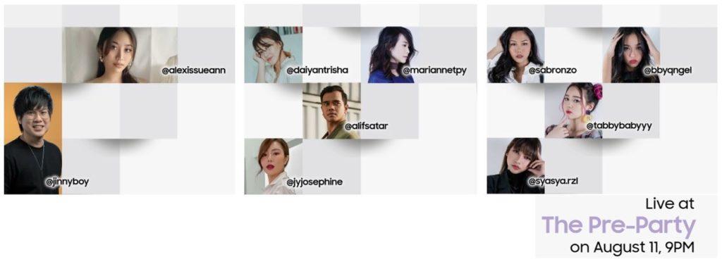 Saksikan Samsung Galaxy Unpacked Pre-Party di YouTube Samsung Malaysia pada jam 9 malam ini 5